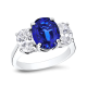 Oval 3.0 Ct. 14K Ring