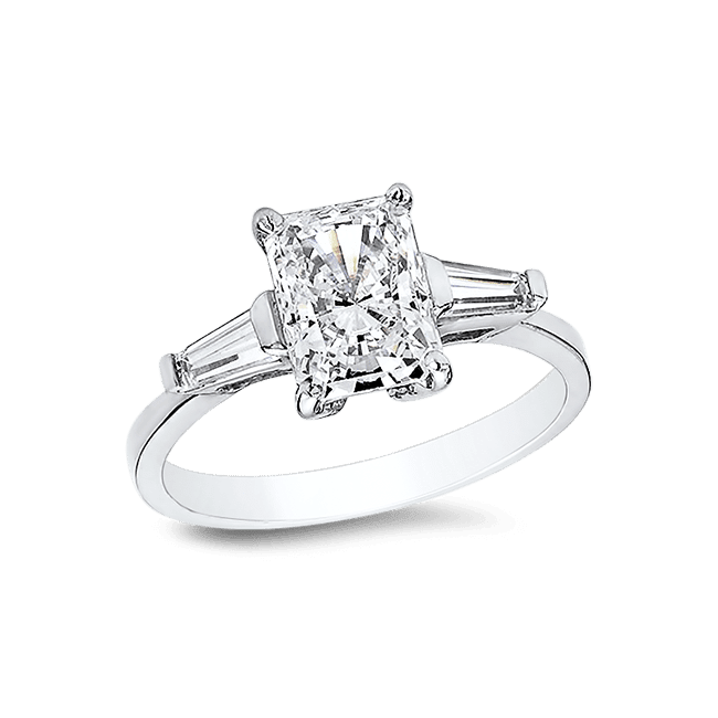 7cc271ede757f8 Radiant Cut 1.0 Ct. 14K Ring