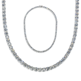 Round 38.50 Carat, 14K Necklace