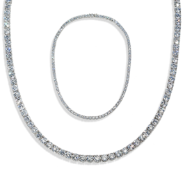 Round 23.0 Carat, 14K Necklace