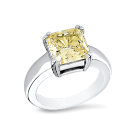 Princess Cut 3.5 Ct. 14K Ring
