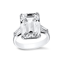 Emerald Cut 9.0 Ct. 14K Ring