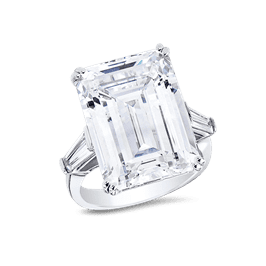 Emerald Cut 20.0 Ct. 14K Ring