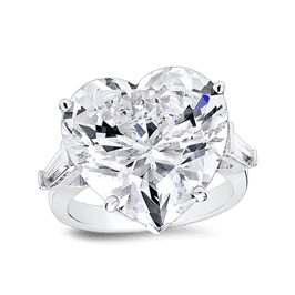 Heart Shape 20.0 Ct.14K Ring