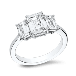 Emerald Cut 1.25 Ct. 14K Ring
