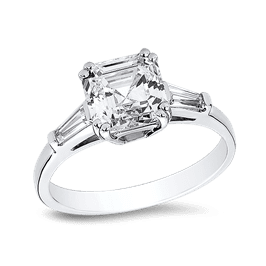 Asscher Cut 1.0 Ct. 14K Ring