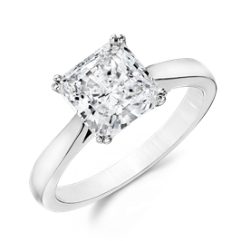Princess Cut 1.5 Ct. 14K Ring