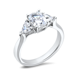 Oval Cushion 1.50 Ct. 14K Ring