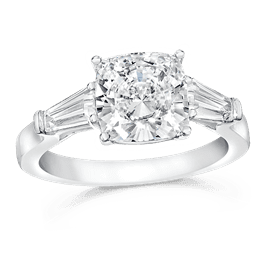 Cushion Cut 2.50 Ct. 14K Ring