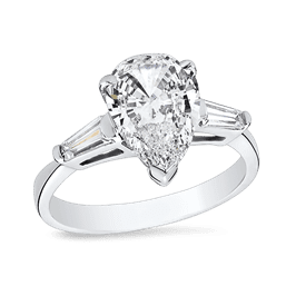 Pear Shape 2.5 Ct. 14K Ring