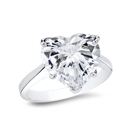 Heart Shape 10.0 Ct. 14K Ring