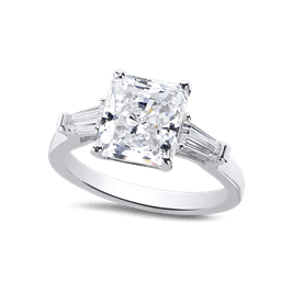 Radiant Cut 2.0 Ct. 14K Ring