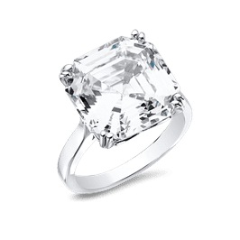 Asscher Cut 12.0 Ct. 14K Ring