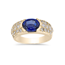 Oval 2.0 Ct. 14K Ring