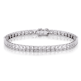 Princess Cut 10.10 Carat, 14K Bracelet