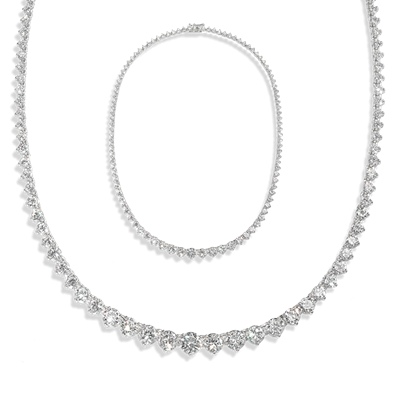 Round 27.0 Carat, 14K Necklace