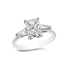 Radiant Cut 1.0 Ct. 14K Ring