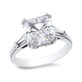 Princess Cut 3.0 Ct. 14K Ring