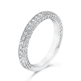Round 1.08 Carat, 14K Wedding Band