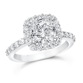 Cushion Cut 2.0 Ct. 14K Ring