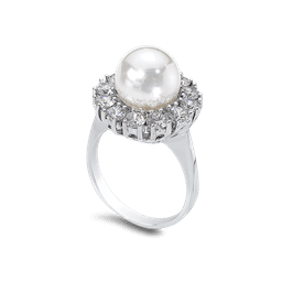 Pearl 10.0 mm 14K Ring