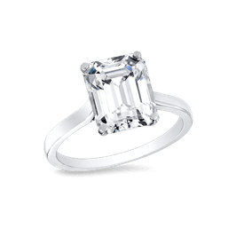 Emerald Cut 2.0 Ct. 14K Ring