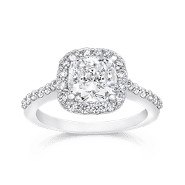Cushion Cut 1.50 Ct. 14K Ring