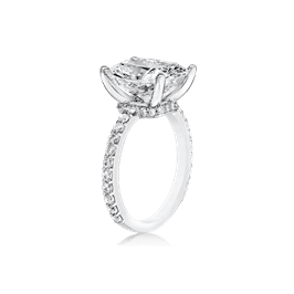 Oval Cushion 5.0 Ct. 14K Ring