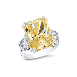 Radiant Cut 15.0 Ct. 14K Ring