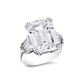 Emerald Cut 15.0 Ct. 14K Ring